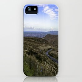 Mountain Roads iPhone Case