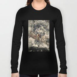 the eruption... Long Sleeve T-shirt