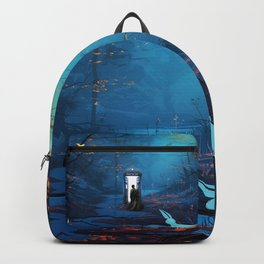 Tardis Lost In The Forest Backpack