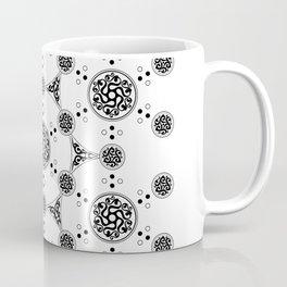 molecule. alien crop circle. flower of life and celtic patterns Coffee Mug