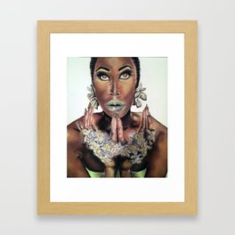 Narz Framed Art Print