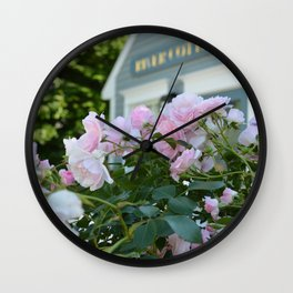 Cottage at Kennebunkport Wall Clock