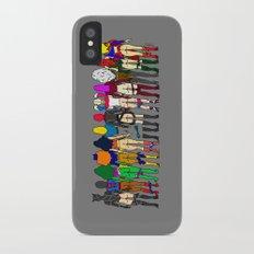 Superheroine Butts - Group iPhone X Slim Case
