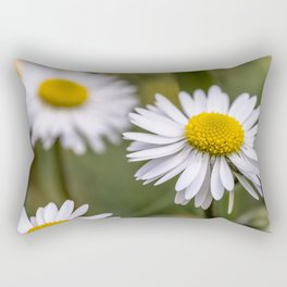Daisy field Rectangular Pillow