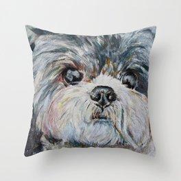 Belle Close-Up Throw Pillow