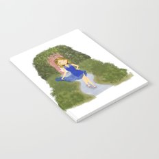 Mia Blue Dress Notebook
