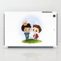 derek hale iPad Cases featuring Sterek - Hale Kingdom by siny