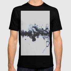 To Say Goodbye MEDIUM Black Mens Fitted Tee