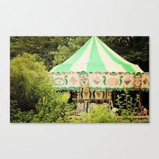 Zoo Carousel Canvas Print