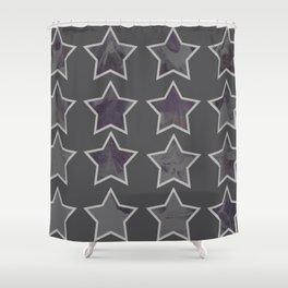 Leaf Stars Shower Curtain