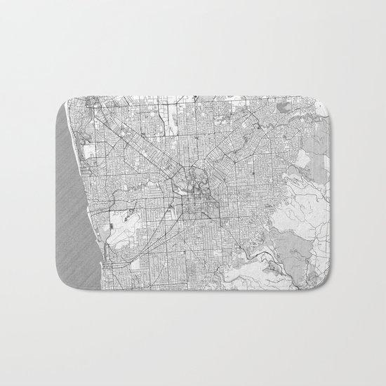 Adelaide Map Line Bath Mat