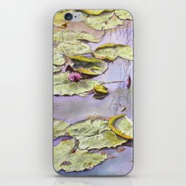 Reflection, watercolor iPhone Skin