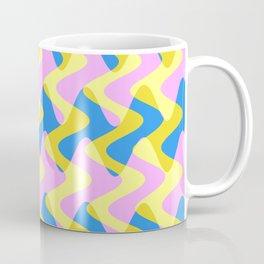 Crosswave Pink - Electron Series 003 Coffee Mug
