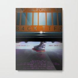 Back To The Future - Mag Metal Print