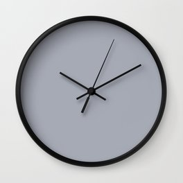 Washed-up ~ Grey Paint Wall Clock