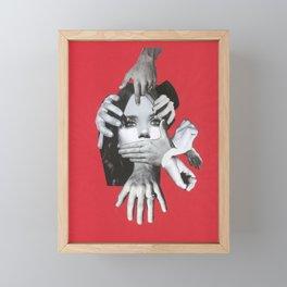 Mad Framed Mini Art Print