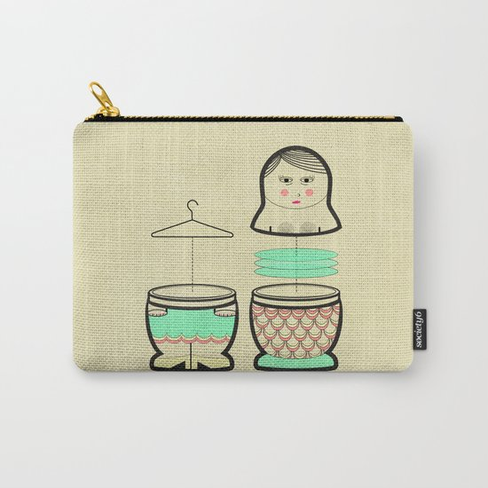 The mermaid who was tired of her tail ... Carry-All Pouch