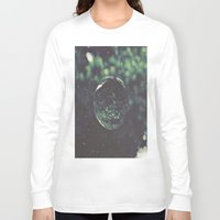 globe Long Sleeve T-shirts featuring Snow Globe by Jane Lacey Smith