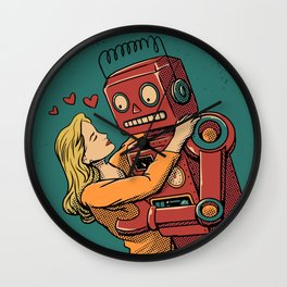 Lover Bot Wall Clock