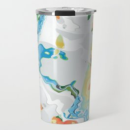 Eazy peazy painterly squeezy Travel Mug
