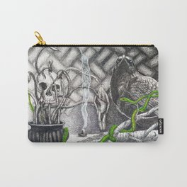What Awaits Carry-All Pouch