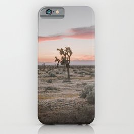 Joshua Tree XVI / California Desert iPhone Case