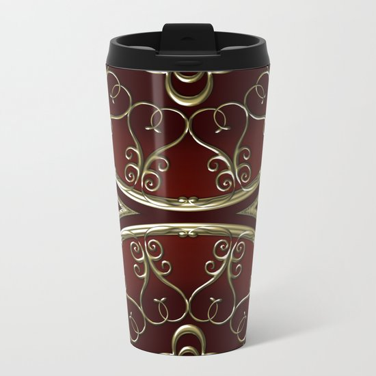 Golden Treasure of Nemo Metal Travel Mug