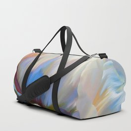 Coco In Love Poppy Floral Art Duffle Bag