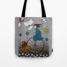 I Follow the Wind Tote Bag