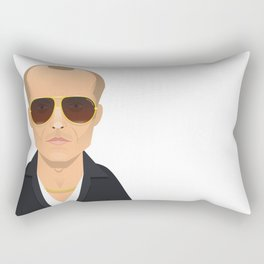 Black Mass - James 'Whitey' Bulger  Rectangular Pillow