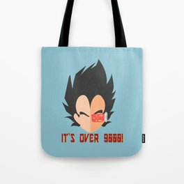 IT'S OVER 9000! Tote Bag