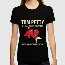 Tom Petty and The Heartbreakers 40th anniversary tour veteran T-shirt