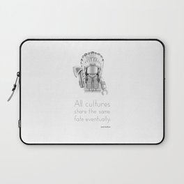 Cheyenne - All Cultures Share the Same Fate Eventually Laptop Sleeve