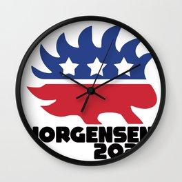 Jorgensen 2020 Wall Clock