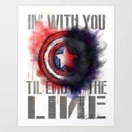 Til the End of the Line Art Print