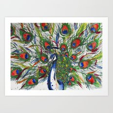 Splay Art Print