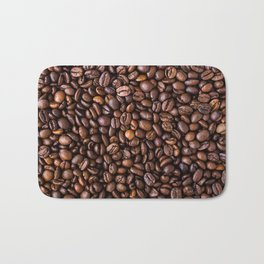 Coffee Bean Scene Bath Mat