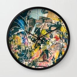 Graffiti is Art (Abstract) Wall Clock