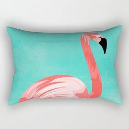 Flamingo Bird Rectangular Pillow