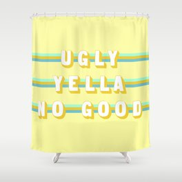 Home Alone (Rule of Threes) Shower Curtain