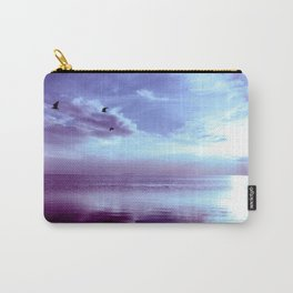 Serenity Lake Lavender Carry-All Pouch