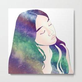 Rainbow Daydream Metal Print