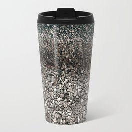 Ocean Waves Print Travel Mug