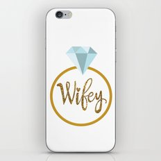 Wifey iPhone & iPod Skin