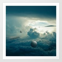 Sky Probes Art Print