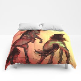 Horse Play Comforters
