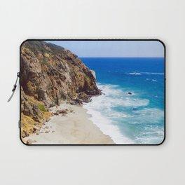 Malibu Beach Photography Laptop Sleeve