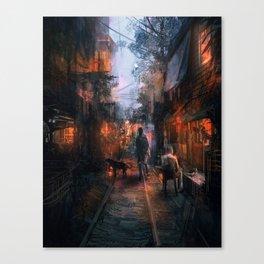 Barrio in the SE Canvas Print
