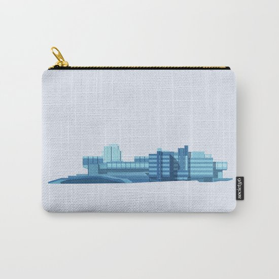 Brutalist Sphinx Carry-All Pouch