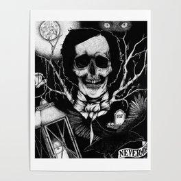 Edgar Allan Poe Nevermore Poster